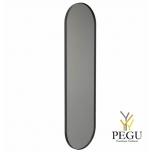 Frost зеркало с рамой 400x1400mm чёрный алюминий