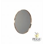 Зеркало Frost UNU круглое с рамой d800mm матовая медь