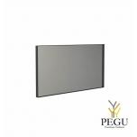Frost зеркало с рамой 1000x500mm чёрный алюминий