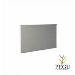 Frost зеркало с рамой 1000x500mm белый алюминий