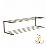 Frost Kingariiul Shoe shelf 2 Nova 1000mm R/V teras kuld/must