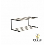 Frost Kingariiul Shoe shelf 1 Nova 600mm R/V teras kuld/must