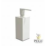 Дозатор для мыла квадратный FROST Quadra 5 белый