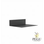 Полка Frost UNU 150x450x600 чёрная