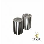 Соль/перец комплект, полированная Н/Р сталь