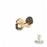Туалетный замок-индикатор ELEMENT 2001, d50mm золото