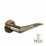 Дверная ручка HB102 LARGE 130mm , золото