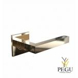 Дверная ручка KUBE 1001 120mm , золото