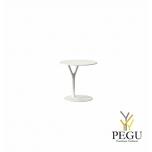 Wishbone столик, D450xH450mm, белый