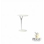 Wishbone столик, D450xH650mm, белый