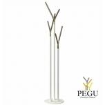 Püstnagi Wishbone, white-kuld