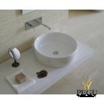 Раковина Globo BOWL+ настольная, белая керамика H=150mm