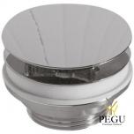 Донный клапан без перелива для раковины Globo BOWL+ хром