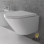 Globo Forty 3 seinapealne WC pott 52x36, Valge, ilma istmeta