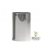 Урна Pieno Standard 25x38cm, гладкая, полированая