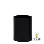 Урна Pieno Mni 20x33cm, гладкая, чёрная