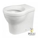 Idral WC HOME keraamika  valge