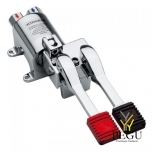 Idral прогрессивный педальный смеситель, с блокировочной системой