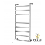 Полотенцесушитель лестница электрический Margaroli SERENO 574/8/L хром латунь 905x830 mm