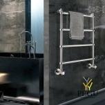 Полотенцесушитель водяной Margaroli Sole 442/TS хром латунь 714x400 mm