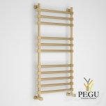 Полотенцесушитель лестница водяной Margaroli SOLE 464/11TQ бронза латунь 490x1072 mm