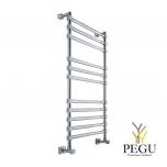 Полотенцесушитель лестница водяной Margaroli SOLE 464/11TQ хром латунь 390x1072 mm