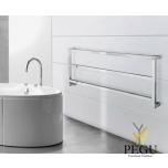 Полотенцесушитель водяной Margaroli Panorama 730/3 хром латунь 440x1200 mm