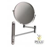 Косметическое зеркало x3 Mediclinics MEDISTEEL нержавеющая сталь AISI304 полированное
