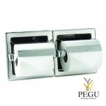 Mediclinics MEDISTEEL держатель для туалетной бумаги 2-й утопленный Н/Р сталь AISI304 полированный