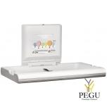 Пеленальный столик Mediclinics горизонтальный пластик+AISI304