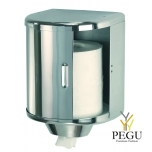 Mediclinics дозатор для бумажных полотенец, рулон MAX250mm Н/Р сталь полированный