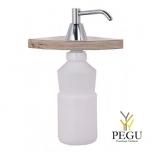 Дозатор для жидкого мыла встраеваемый полированный хром 0,95L