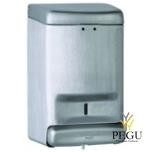 Дозатор для мыла Н/Р сталь, матовый 1,1L