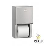 Mediclinics держатель для туалетной бумаги на 2 рулона Н/Р сталь AISI304
