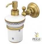 NIcolazzi дозатор для мыла бронза BZ декоративная керамика