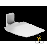 Normbau Ascento складное сидение 412x512 белое
