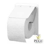 Ophardt WC держатель для туалетной бумаги TRU 1 P Н/Р сталь матовый белый RAL9010