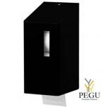 Ophardt WC держатель для туалетной бумаги 2 рулона TRU 2 P Midnight  Н/Р сталь матовый чёрный