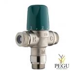 Termoregulaator kaitsega, 5 valamu, või 3 duši, 60L/min 3bar