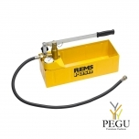 REMS Push ручной пресс насос для контроля давления с манометром 12L до 60 bar