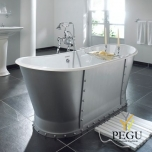Чугунная ванна RECOR Eiffel 170 x 68  RAL внешнее покрытие
