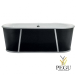 Чугунная ванна RECOR Morgan 154 x 78,  RAL внешнее покрытие