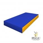 Romana мягкий мат 100x50x10 cm синий/жёлтый