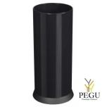 Корзина для зонтов/урна для бумаги KIPSO 28L чёрный графит RAL9011