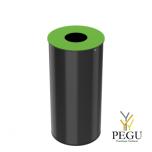 Сортировочная урна Rossignol NEOTRI 50L, Green RAL6018