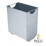 Корзина для мусора для мусорного бака URBANET 30L гальванизированая сталь