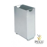 Корзина для мусора для мусорного бака URBANET 60L гальванизированая сталь