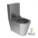 Roostevaba teras WC pott Delabie Monobloco S21, R/V AISI304 matt