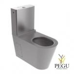 Delabie WC INVA Monobloco 700 Н/Р сталь