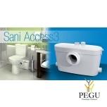 Насос измельчитель Saniaccess 3 ( можно: WC  + раковина + душ + биде )